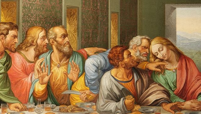 1671902-poster-detail-of-the-da-vinci27s-the-last-supper-by-giacomo-raffaelli2c-vienna