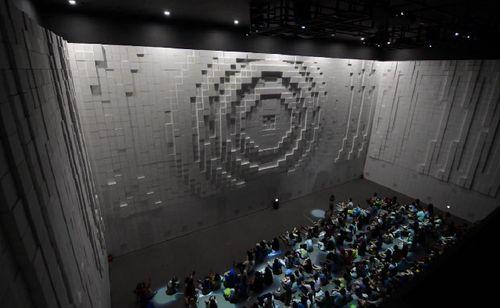 Hyper-matrix-wall