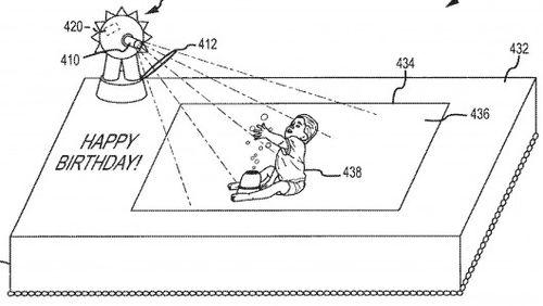 Disney-augmented-reality-cakes